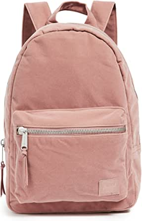 Herschel Supply Co. Women's Grove XS Velvet Backpack, Ash Rose, Pink, One Size