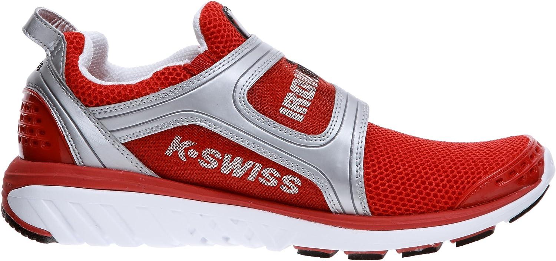 K-Swiss 2551 - Zapatillas de triatlón para Hombre, Color Rojo, Talla 47: Amazon.es: Zapatos y complementos