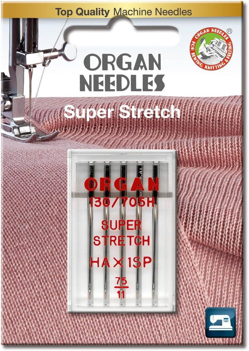 Organ Agujas 4964832850751 Overlock máquina de Agujas: Amazon.es ...