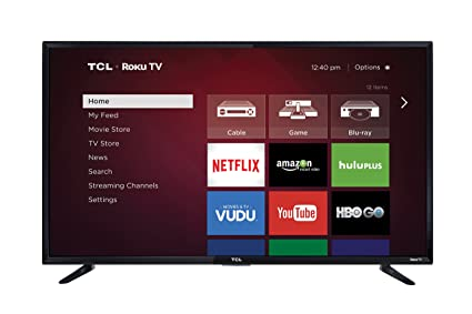 Amazoncom Tcl 48fs3750 48 Inch 1080p Roku Smart Led Tv 2016 Model