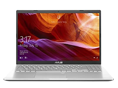 ASUS VivoBook 15 X509FA-EJ341T Intel Core i3 8th Gen I3-8145U 15.6-inch FHD Compact and Light Laptop (4GB RAM/1TB HDD/Windows 10/Integrated Graphics/FP Reader/1.9 kg), Transparent Silver