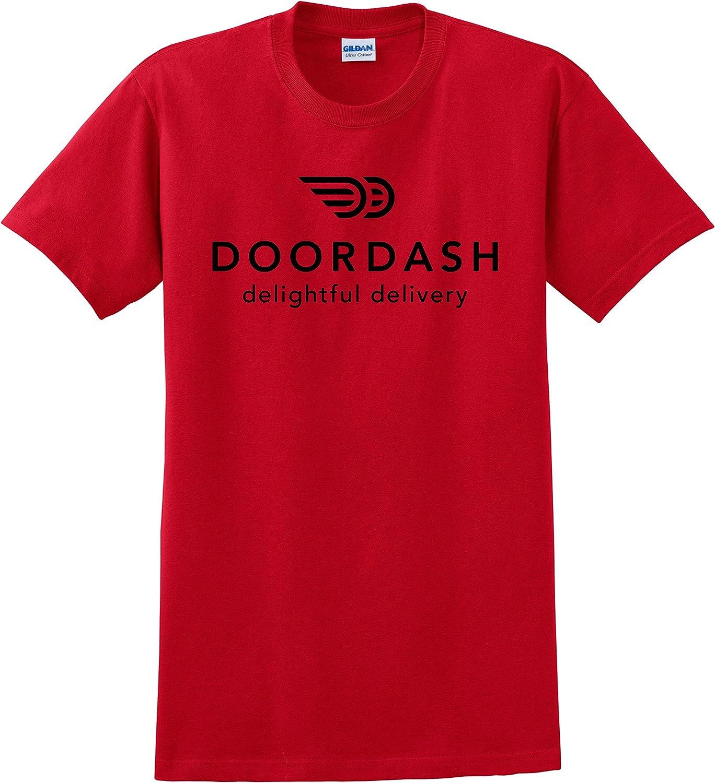 Custom Teez Doordash T Shirt Door Dash Food Delivery Unisex Tee Shirts