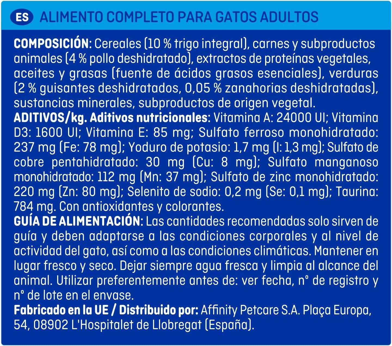 Brekkies Pienso para Gatos Esterilizados con Pollo - 1500 gr ...