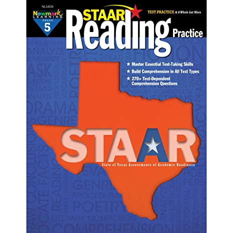 Amazoncom Newmark Learning Staar Reading Practice Grade 5