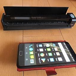 Amazon Co Jp カスタマーレビュー Fujitsu Scansnap Ix100 Wi Fi バッテリー搭載スキャナ Fi Ix100