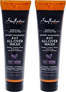 product image for Shea Moisture Maracuja & Shea Butter Smokey Manhattan 4-in-1 All Over Wash Pack Of 2, 10.3 Oz