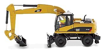 CAT M318D excavadora de ruedas