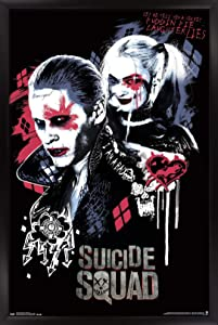Trends International Wall Poster Suicide Squad Twisted Love, 22.375 x 34