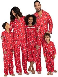 dc8bf71da Disney Mickey Mouse Christmas Holiday Family Sleepwear Pajamas Dad Mom Kid  Baby