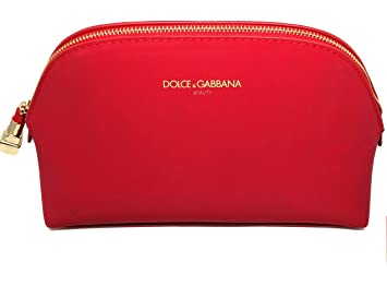 Image Unavailable. Image not available for. Color  Dolce   Gabbana DG  Corporate Beauty Red Femme Pouch Cosmetic ... 05a5f0c9cf44e