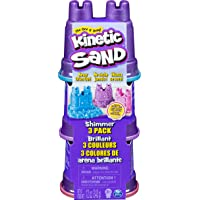 Kinetic Sand 6053520 Shimmer Play Sand, 113g (Pack of 3)