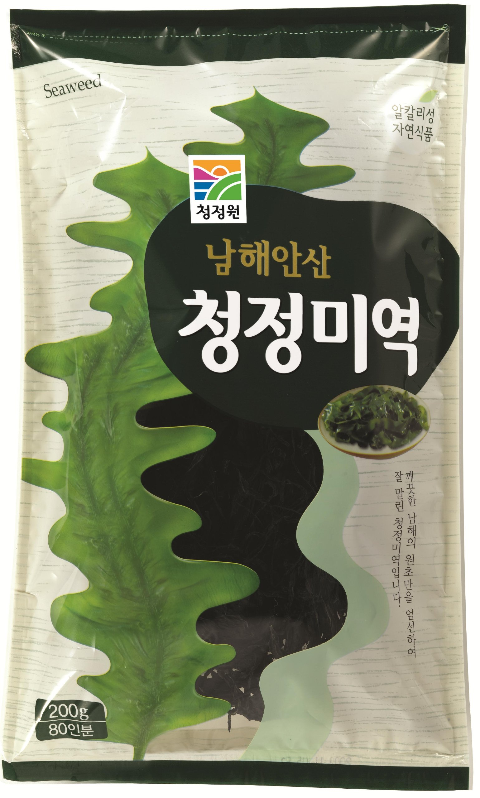 Chung Jung One Dried Seaweed 7 oz (200 g) (Pack of 2)