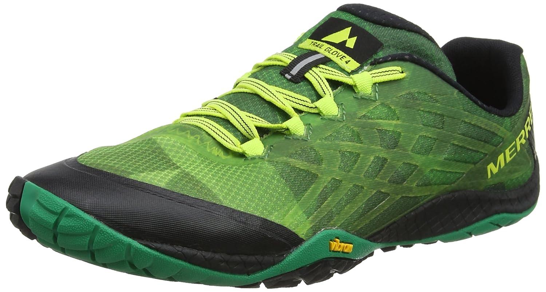 Merrell Trail Glove 4, Zapatillas de Correr para Hombre 50 EU Verde (Emerald)