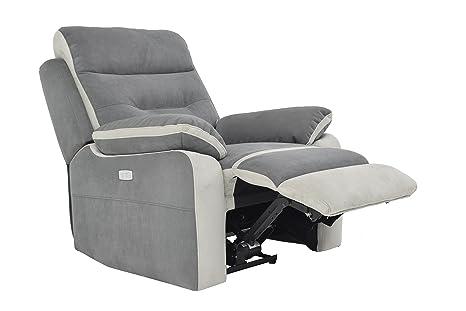 Poltrona Relax Con Poggiapiedi.Poltrona Relax Elettrica Comfort Con Poggiapiedi Sollevabile