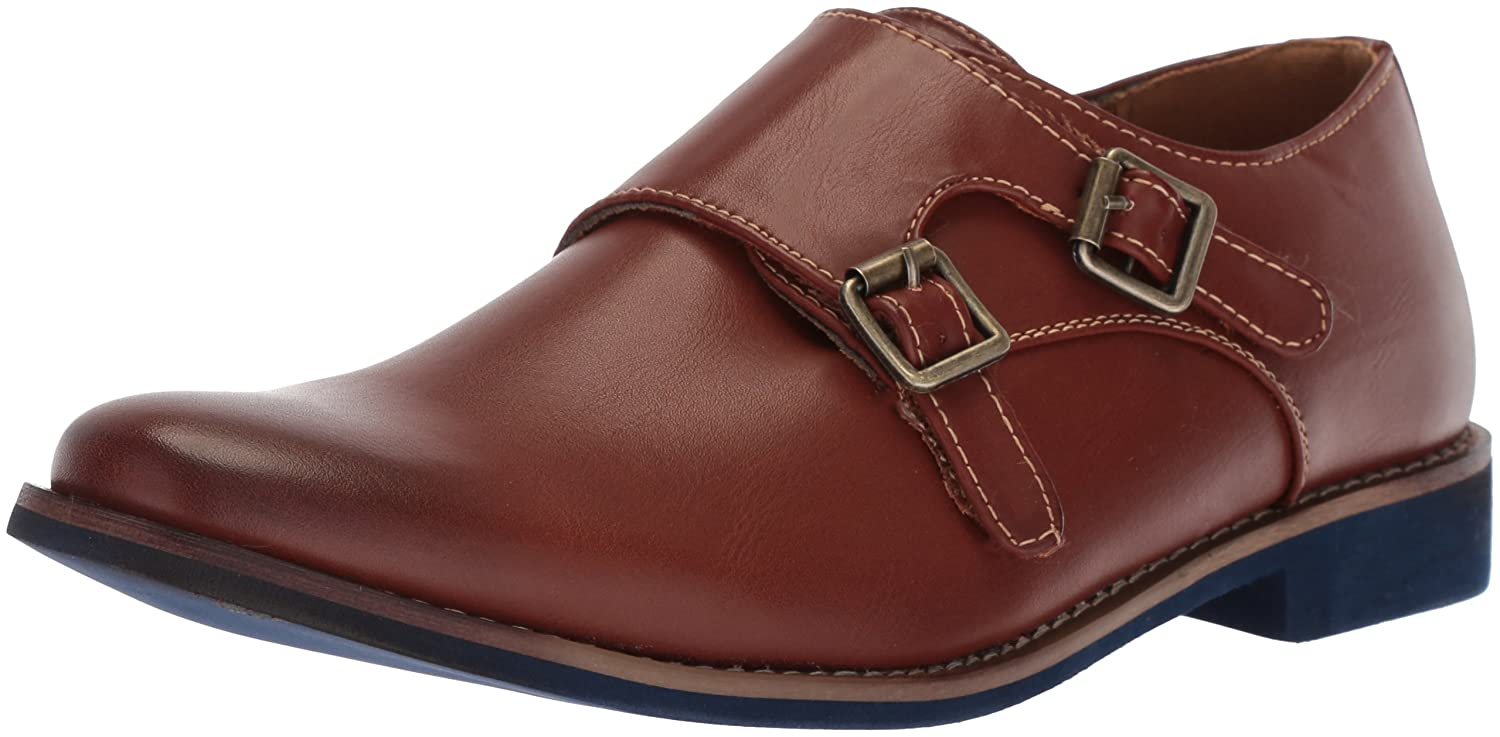 Deer Stags Kids' Harry Monk-Strap Loafer HARRY-HTEC