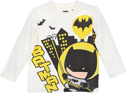 Batman bebé-niños Camiseta de Manga Larga: Amazon.es: Ropa y accesorios