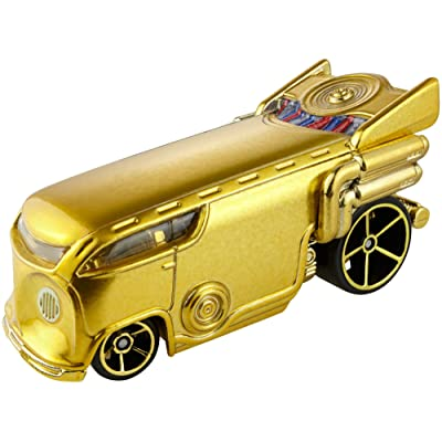 Hot Wheels C-3Po Vehicle: Toys & Games