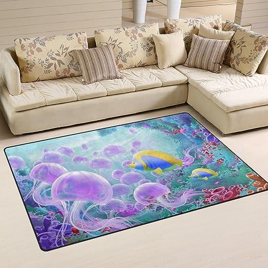 Amazon.com: naanle océano playa tema antideslizante alfombra ...