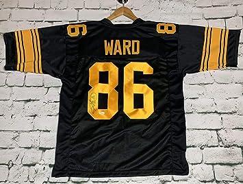 Hines Ward Signed Autographed Pittsburgh Steelers Football Jersey - JSA COA f643e4b5f