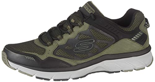 Skechers Bowerz Uomo Pelle Scarpa da Corsa: Amazon.it ...