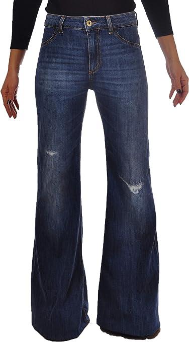 Slavato 5 Tasche Blu Medio Taglia 28 P668DS146DO46-800-JEANS DONDUP Jeans
