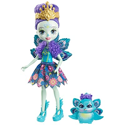 Enchantimals Patter Peacock Doll: Toys & Games