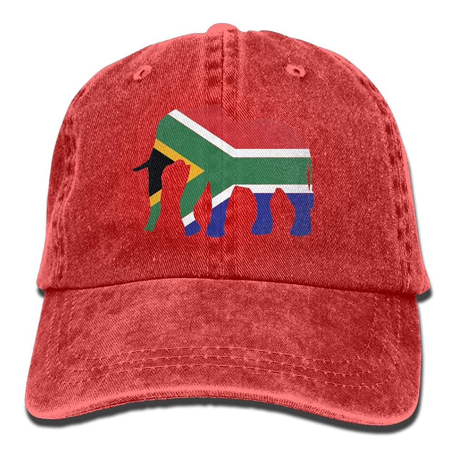 Rainbow Space Elephant South Africa Flag Adult Dad Hat Baseball Hat Vintage  Washed Distressed Cap at Amazon Women s Clothing store  a338b8a7da7