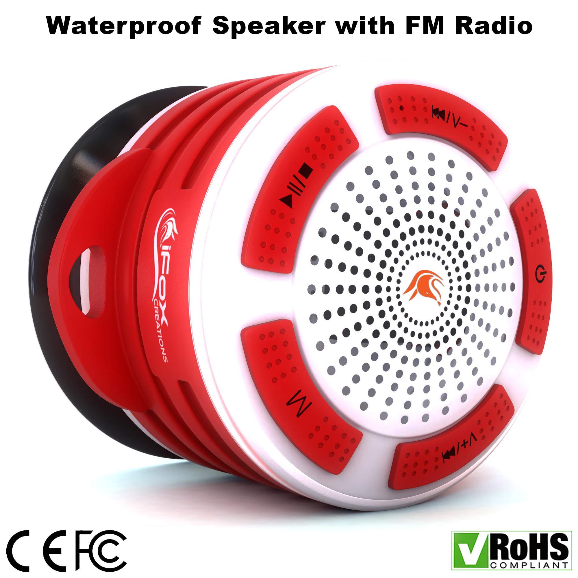 Parlante Bluetooth iF014 Waterproof & Shower Radio Pl (R8NY)