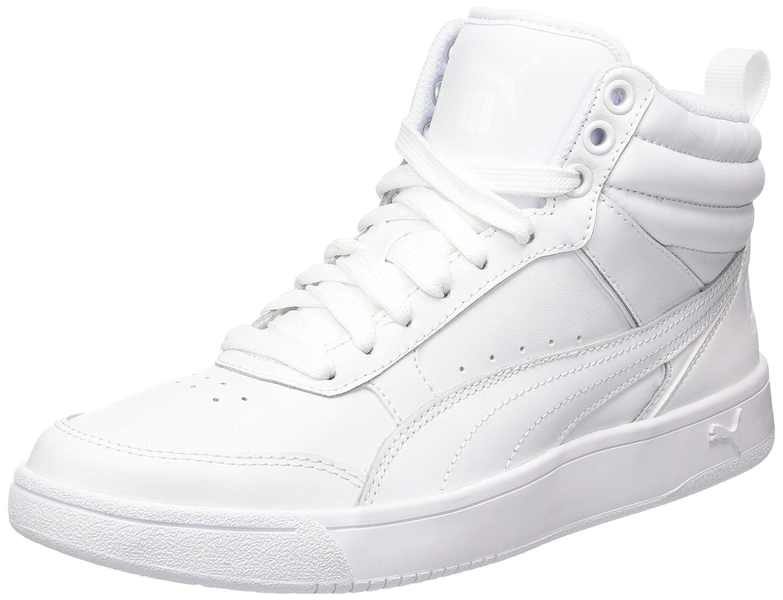 Puma Rebound Street V2, Chaussures de Cross Mixte Adulte, Noir Black White, 44 EU
