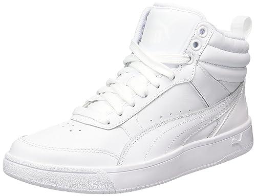 Puma Rebound Street V2 L, Zapatillas Unisex Adulto, Blanco White White, 36  EU