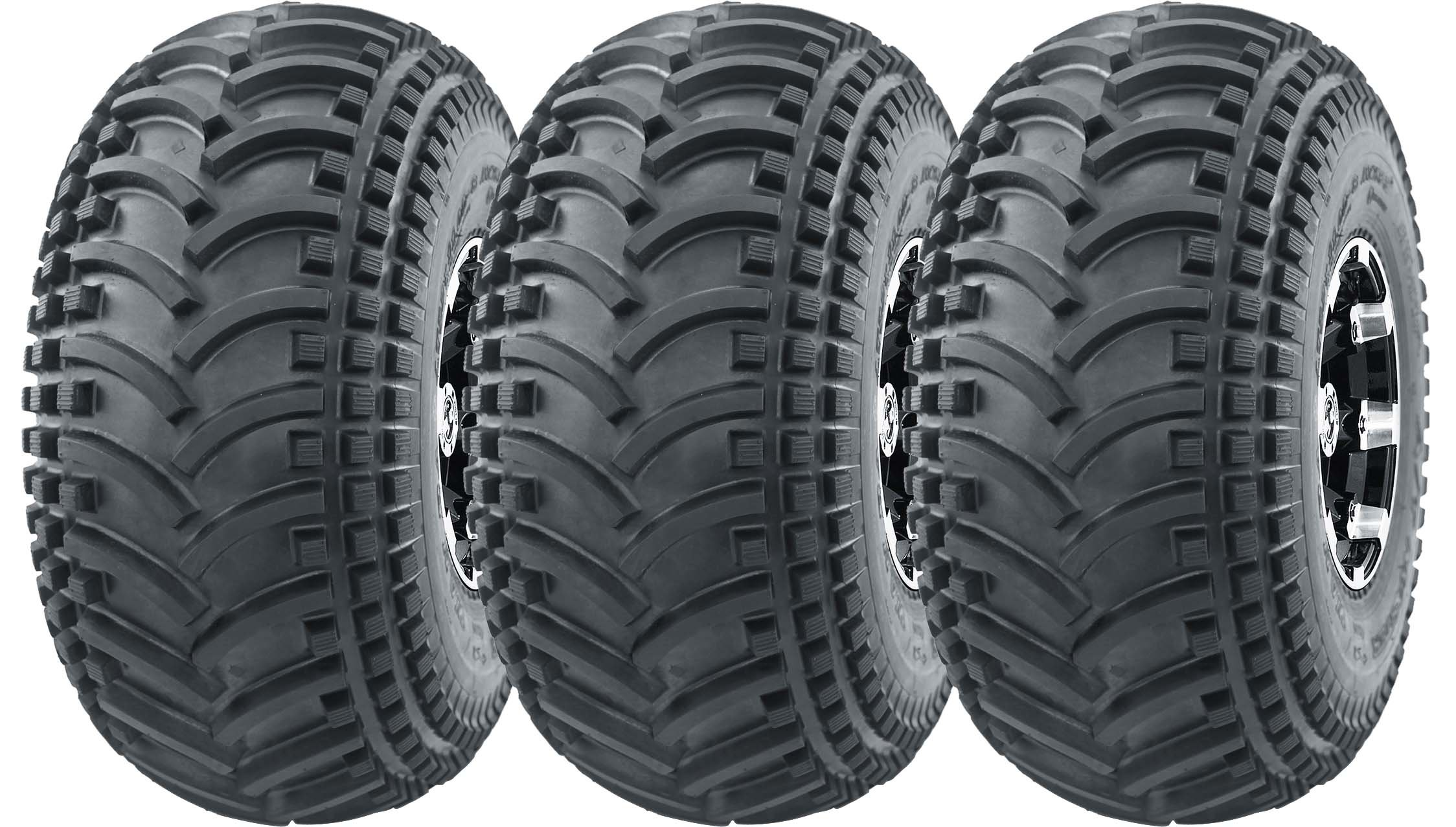 3 New 3 Wheeler WANDA ATV Tires 22X11-8 22x11x8 4PR - 10135