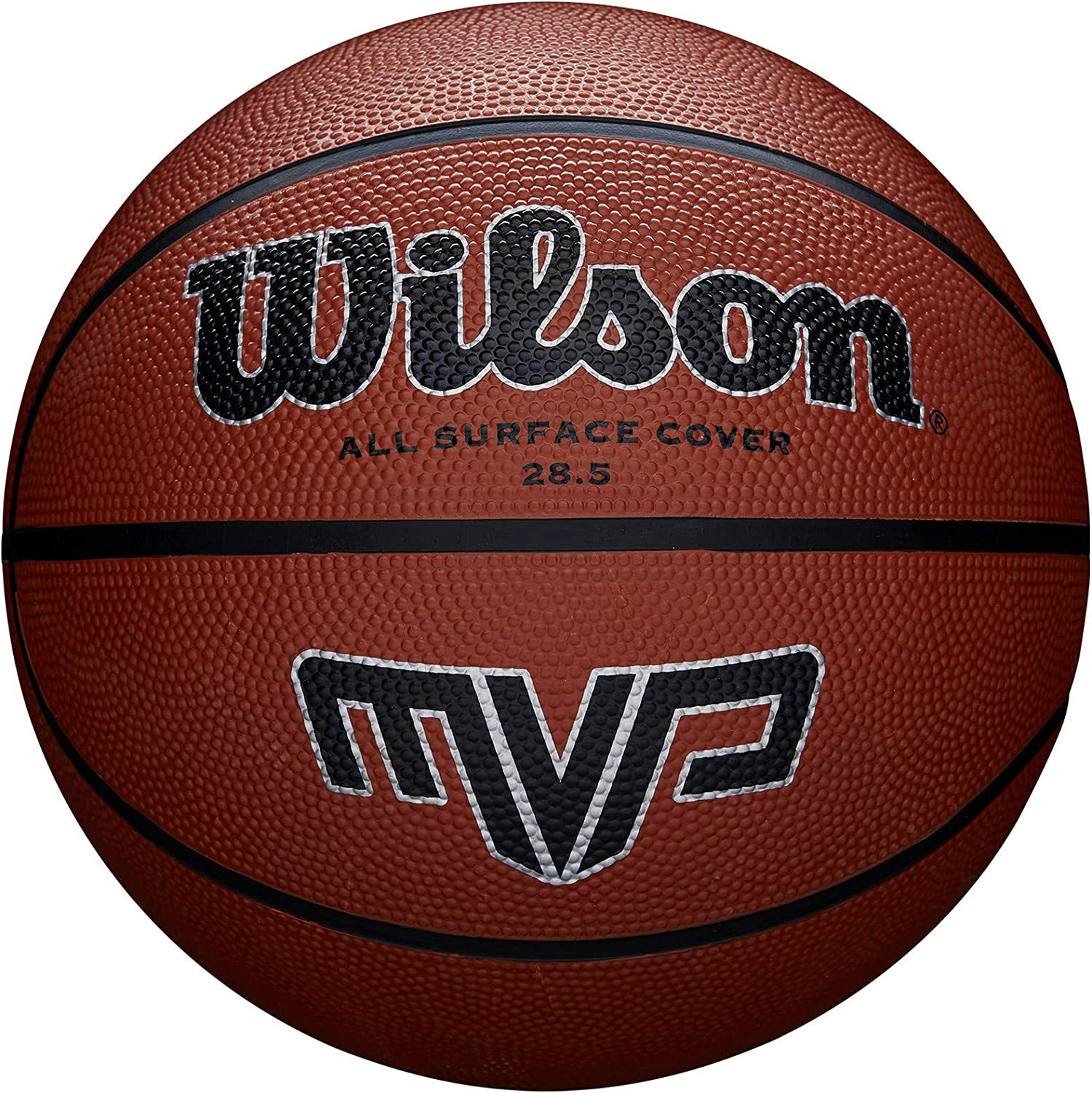 Wilson Basketball MVP Performance Rubber Indoor//Outdoor Official Size//Weight