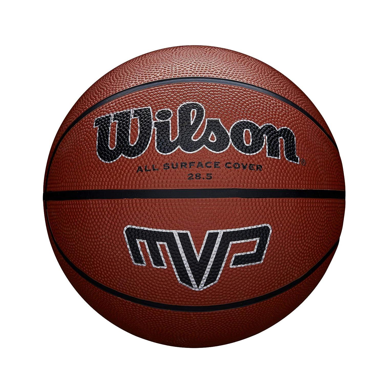 Wilson Pelota de Baloncesto MVP Caucho Interior y Exterior: Amazon ...