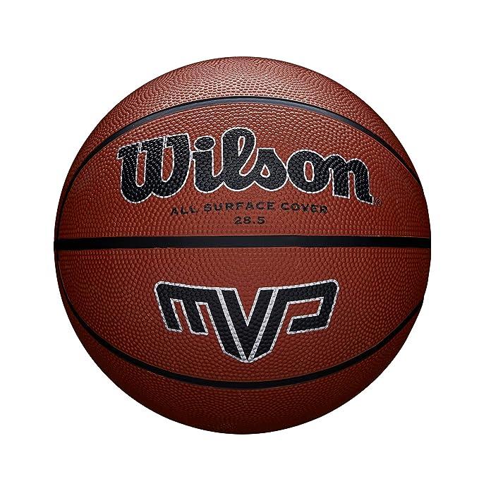 Wilson Pelota de Baloncesto MVP Caucho Interior y Exterior