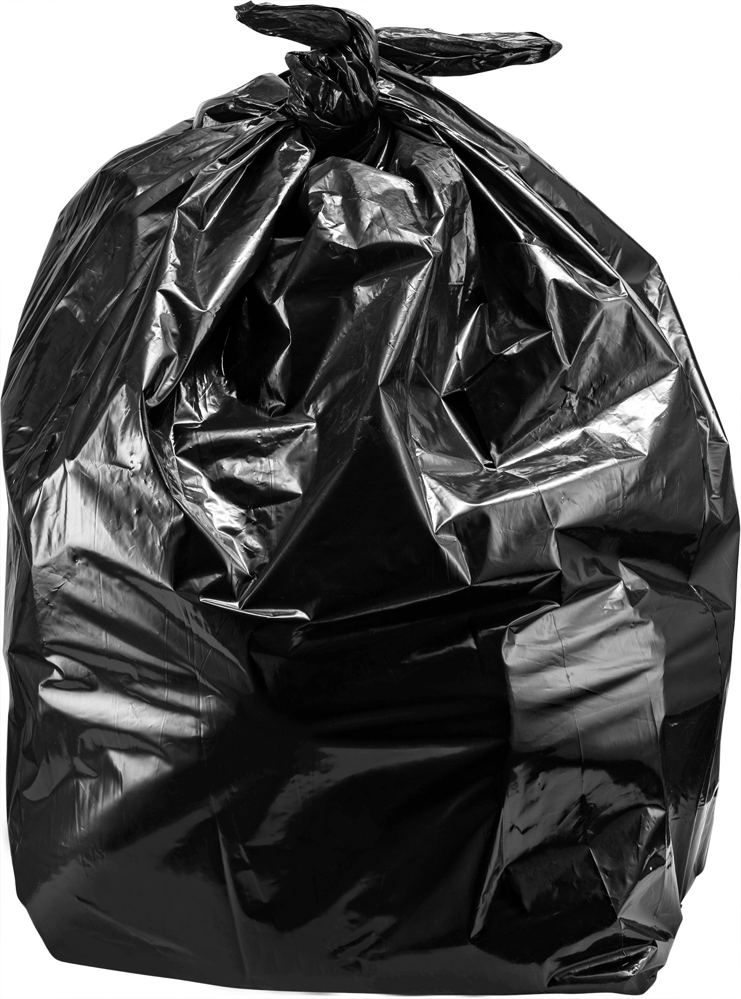 55-60 Gallon Trash Bags, 100/Count, Large Black Garbage Bags, 38'' W x 58'' H, 1.2 Mil by Tasker (Image #5)
