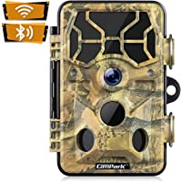 Campark Trail Camera-WiFi 20MP 1296P Hunting Game Camera with Night Vision Motion Activated for Outdoor Wildlife…