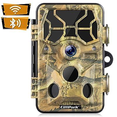 Campark Trail Camera-WiFi 20MP 1296P Upgrade Bluetooth Hunting Game Camera
