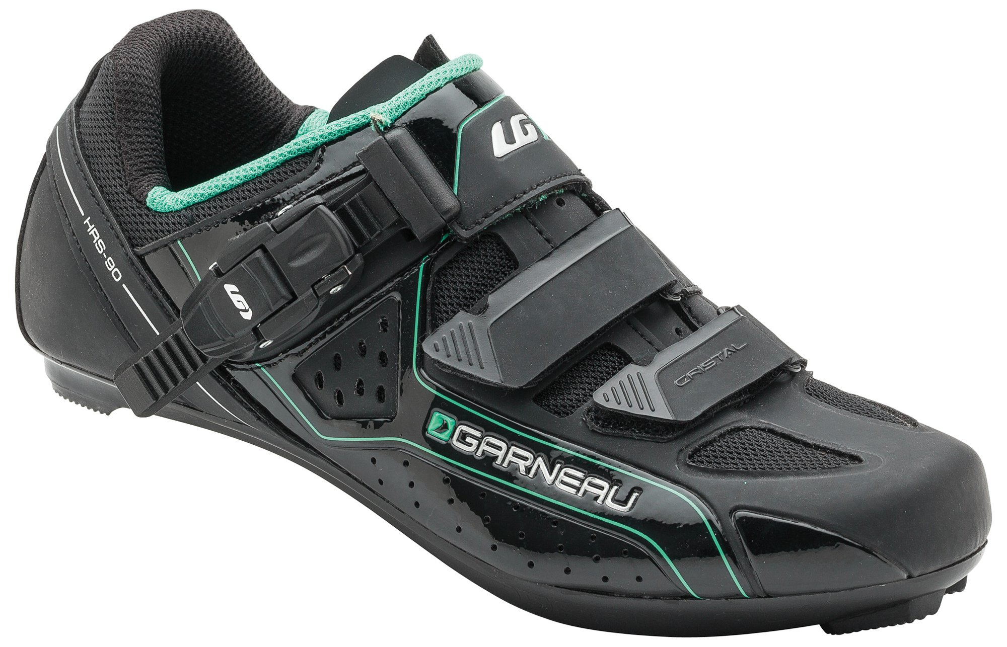 Louis Garneau - Women's Cristal Bike Shoes, Black, US (9), EU (40)