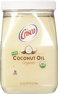 product image for Crisco Organic Coconut Oil, 27 Fluid Ounce