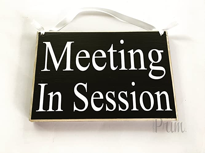 amazon com meeting in session please do not disturb 8x6 choose