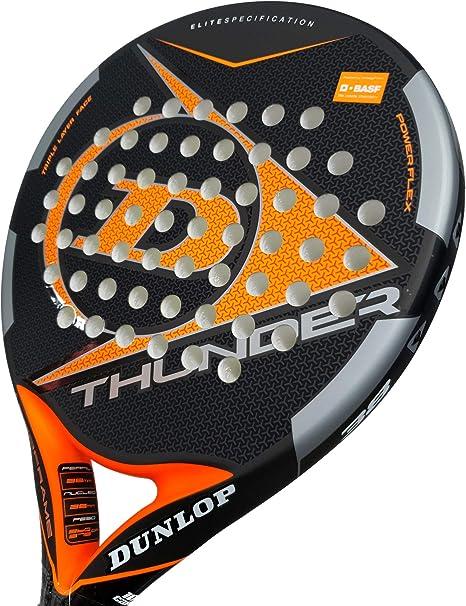 Pala de Pádel Dunlop Thunder: Amazon.es: Deportes y aire libre