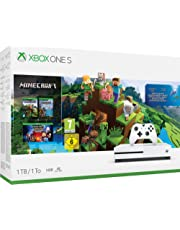 XBOX ONE S Console 1TB Minecraft Story Mode + Explorer
