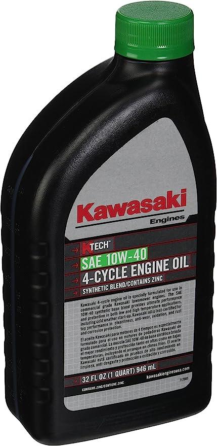 Amazon.com: Kawasaki k-tech (SAE 10 W-40 Aceite de motor ...