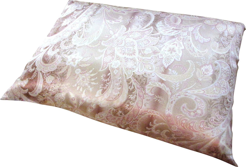 手引真綿100%枕 日本製 希少品 (補充わた&ピロケース付) ピンク B07D45TP6L ピンク