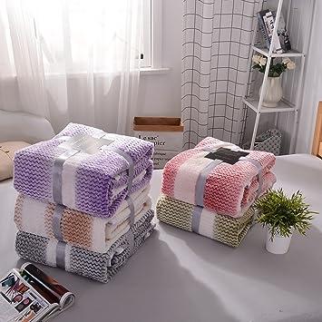 alicemall couverture de lit en flanellejet de canapcouvre lit plaidcouette - Couverture Lit