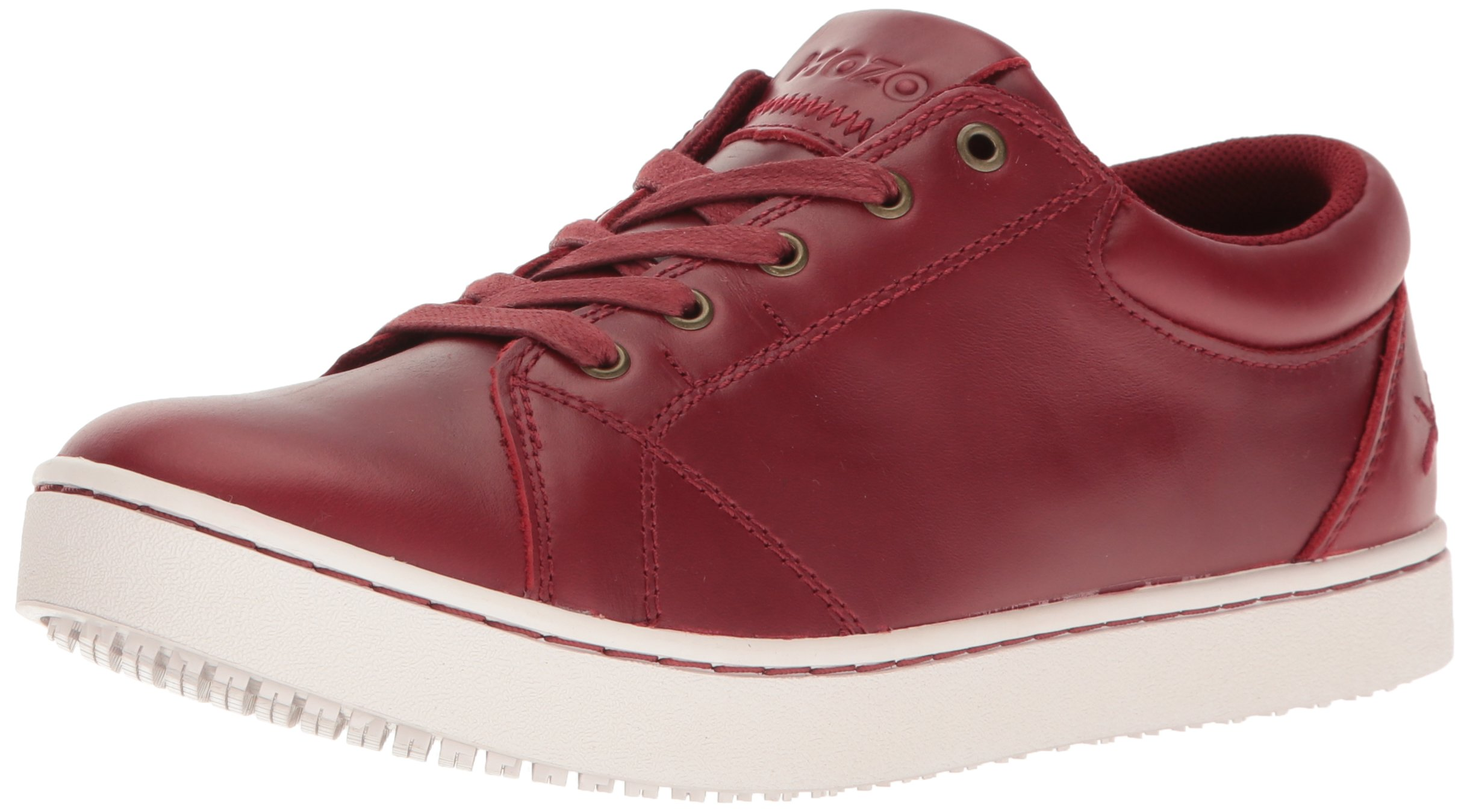 MOZO Women's Mavi Food Service Shoe, Red, 10 B US