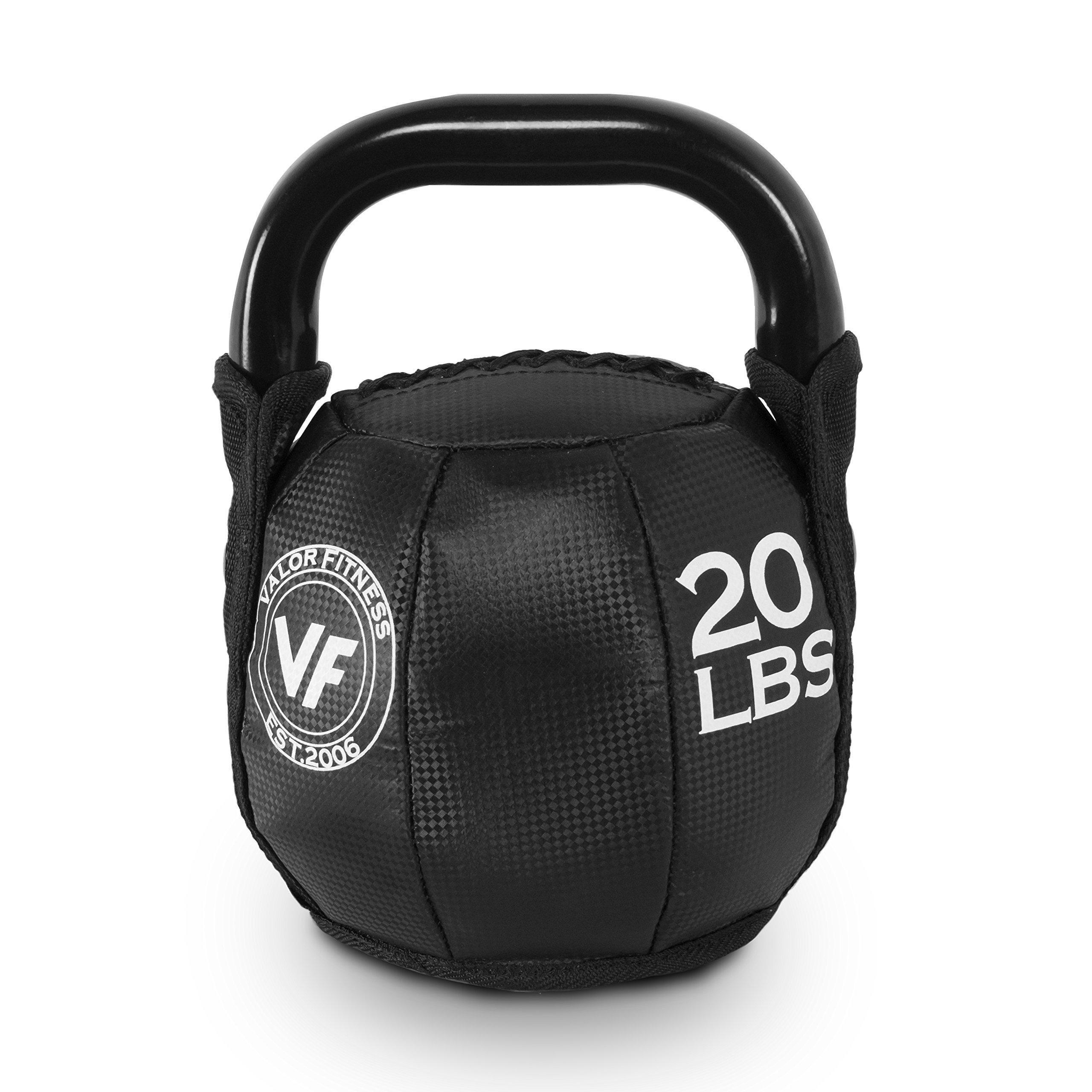 Valor Fitness SKB Soft Kettlebells - 10, 15, 20, 25, 30, 35 lb. Options