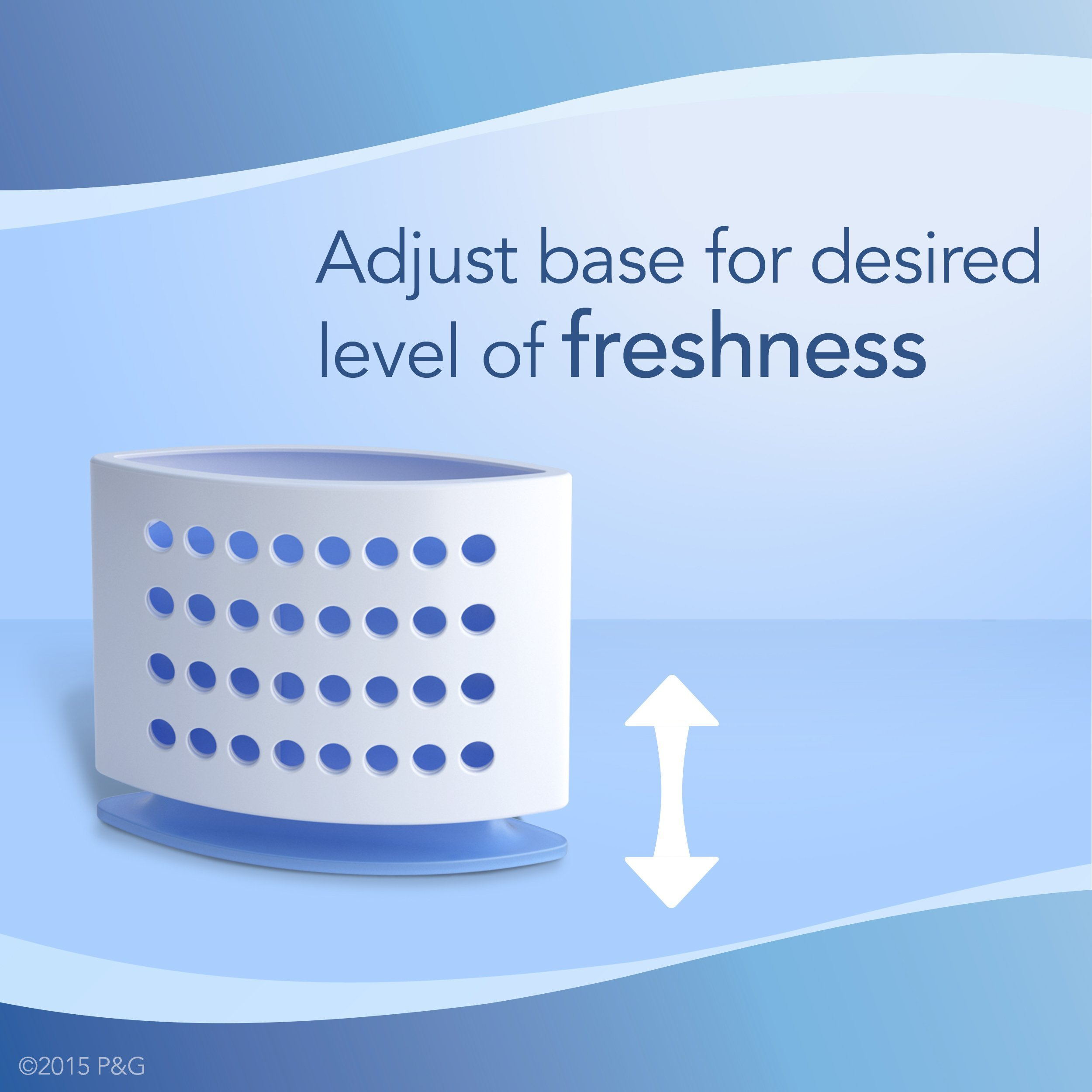 Febreze Air Freshener,  Small Spaces Air Freshener,  with Gain Original Starter Kit Air Freshener 5.5 mL(Pack of 8) by Febreze (Image #7)