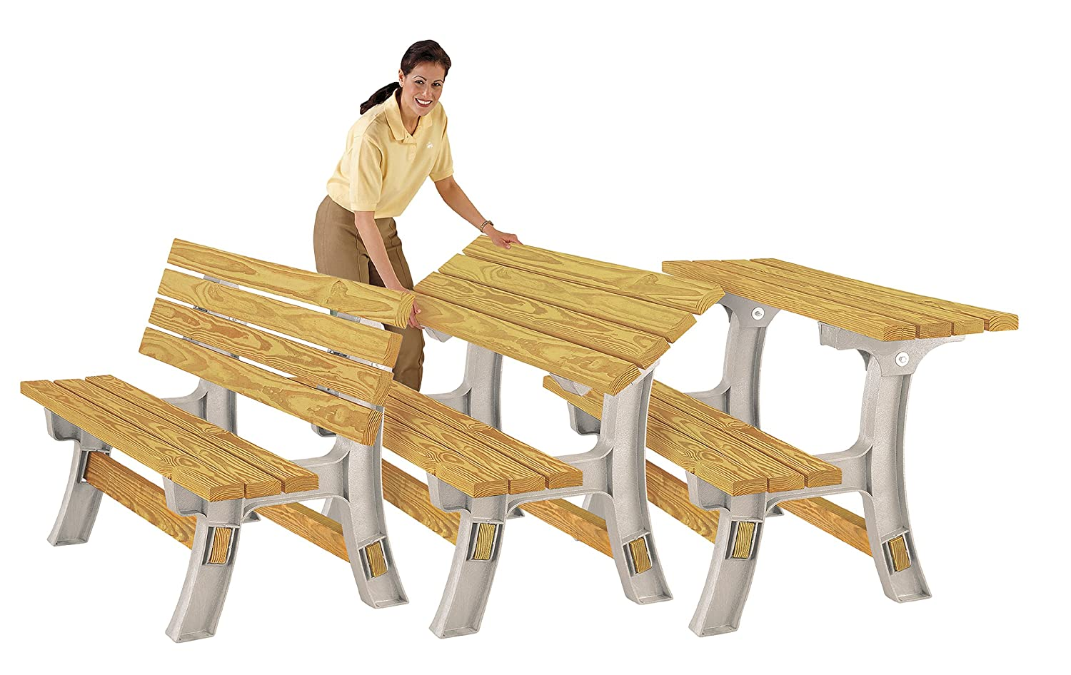 tables grade lifetime bench commercial the folding table x p in benches picnic