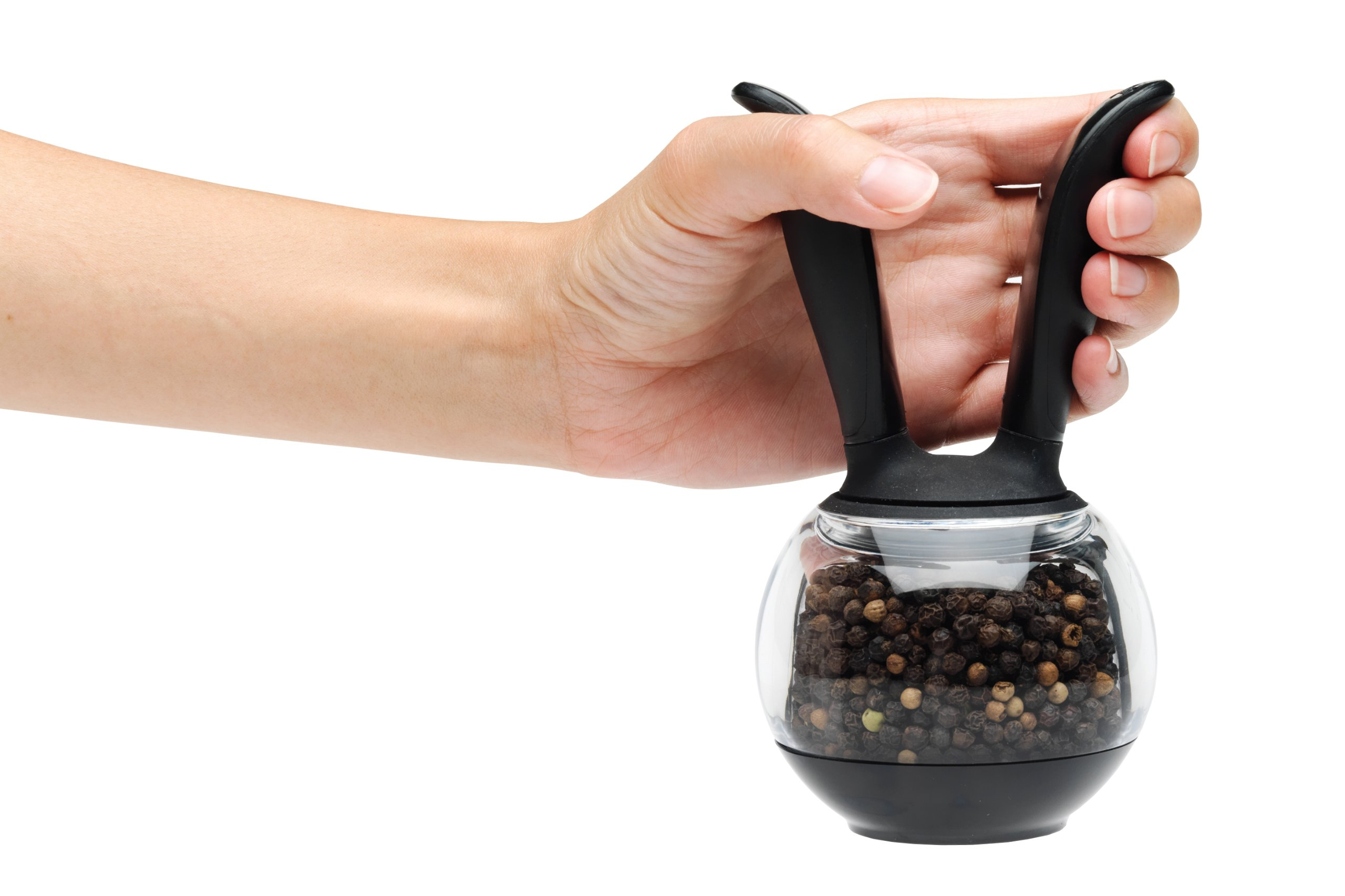 Chef'n (101-235-001)  PepperBall (Black and Clear) by Chef'n (Image #2)